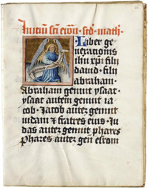 Евангелиарий. Регенсбург, Германия, 1430–1440