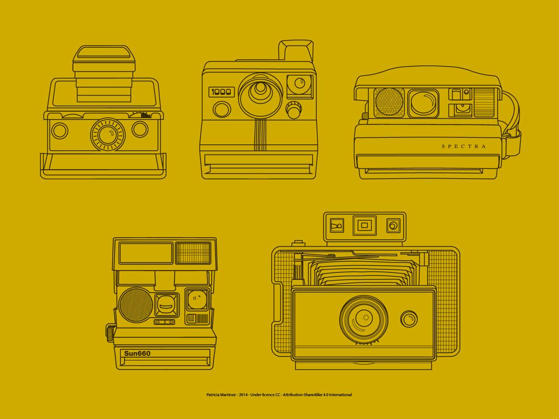 5 Polaroids Icons