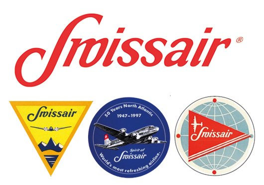 Логотип Swissair 1940