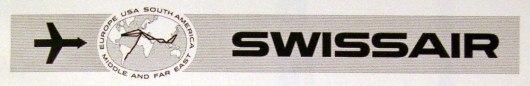 Логотип Swissair 1950