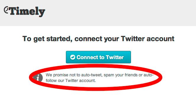Подключение твиттера к Timely