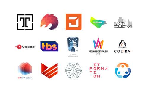 Тренды в логотипах 2016
